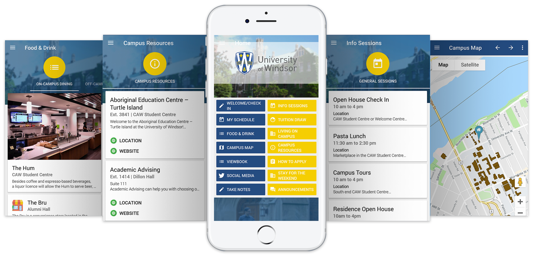 UWindsor Spring Open House App